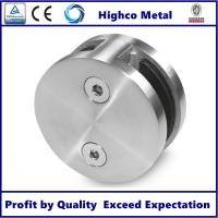 Wholesale Stainless Steel Round Glass Clamp Mirror Polished Fit 8-12.76mm Glass for Staircase Glass Railing from china suppliers
