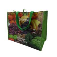 Wholesale Glossy Laminated Non-woven Polypropylene Tote Shopping Bags with Logo Printing from china suppliers