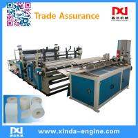 Buy cheap full automatic toilet paper machine toilet paper production line toilet roll packing machine xinda from wholesalers