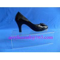 China factory Custom clear acrylic shop display rack / acrylic shoes holder for sale