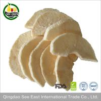 China Freeze Dried Apple Chips green food 100% NO ADDITIVES Chinese instant fruit emergency food on sale