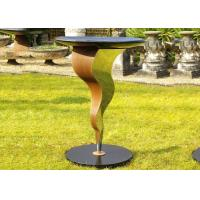 Wholesale Beautiful Bird Drinking Bowl Contemporary Outdoor Metal Sculpture Customized Size from china suppliers