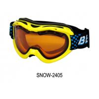 Quality Snowboard Goggles Interchangeable Snow Goggles TPU Frame REVO Red Coating for sale