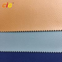 Buy cheap Strong Knitting Backing PVC Artificial Leather for Sofa and Car Seat from wholesalers