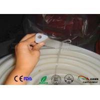 Buy cheap Transparent triangle section white silicone rubber seal,Triangle shaped silicone from wholesalers