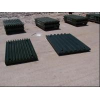 Wholesale Steel Jaw Plates Spare Crusher Wear Parts For Jaw Crushers More than 50HRC from china suppliers