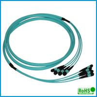 Wholesale High Performance MPO Fiber Optic Cable With Multi - Cores PVC Jacket from china suppliers