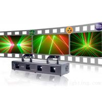 Wholesale Four head red and green laser light KTV Disco stage light from china suppliers