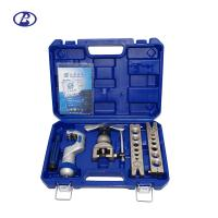 China 45 Degree Heavy Duty 1/4 - 3/4 Copper Tube Flaring Tool Set  Come With Plastic Handcase on sale