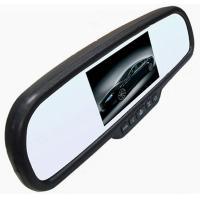 Wholesale Car Rear View Rearview Mirror Monitor with Special Bracket 480*272 Resolution 2Video Input from china suppliers