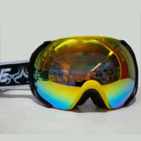Wholesale Eco Friendly Cool Mirror  Snow Boarding Goggles with Adjusted Nose Buckle from china suppliers