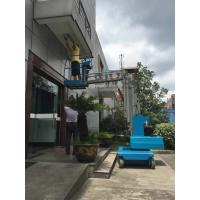 Quality 7.5m Elevated Work Platforms , Mast Type 3m Trailer Mounted Boom Lift for sale