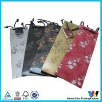 China CMYK / Pantone Printing Personalized Gift Bags Glossy / Matt Lamination on sale