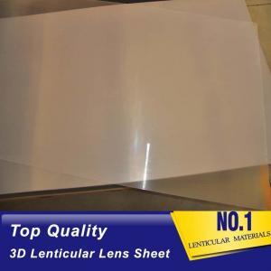 Wholesale UV Curing Process 100 LPI Resin PET Lens Plastic Flip 3D Lenticular Sheet 0.35mm 0.6mm lenticular films plastic from china suppliers