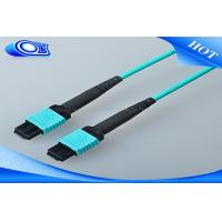 Buy cheap 12 / 24 Cores MTP MPO Connector OM 3 Multimode Fiber Cable 10m Length from wholesalers