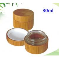 Wholesale Bamboo/wood cream jar bamboo cosmetic jar 30ml from china suppliers