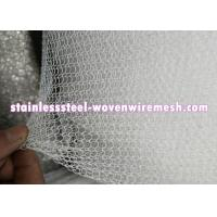 China PP PE PTFE Knitted Metal Mesh Width 6 - 30  Wear And Abrasion Resistance on sale