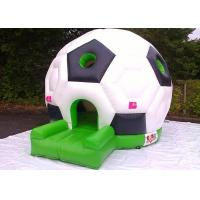 Wholesale Soccer Inflatable Bouncer Jumping House , Inflatable Bouncer House For Kids And Adult from china suppliers