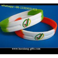 Made in China 1/2 inch supplier good quality colorful silicone wristband/bracelet for sale