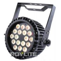 Quality Powercon Without Fan LED Par Can18 x 8w RGBW Color Mixing Aluminum Body Cooling for sale