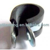 China P Type Rubber Lined Hose Clips on sale