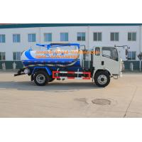 Wholesale Sinotruk Howo7 Light Type 5-6CBM LHD 4X2 Sewage Suction Truck , Combination Sewer Cleaning Truck from china suppliers