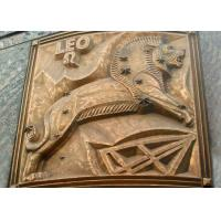 Wholesale Large Size Bronze Relief Wall Art , Modern Relief Sculpture European Style from china suppliers