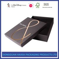China Foil Stamping Christmas Gift Boxes With Lids Recyclable Paper Set Up Boxes on sale