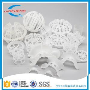 China Plastic Random Tower Packing Media , PP PE PVC CPVC PVDF Super Saddle on sale