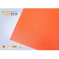 Wholesale Suntex High  Silicone Rubber Coated Fiberglass Fabric 2 Sides Coating Heat Resistant Material from china suppliers