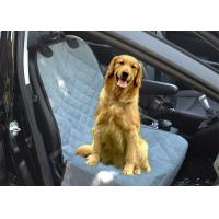 Buy cheap Dogs Gray Removable Quilted Pet Car Seat Covers Waterproof Easy on , Off from wholesalers