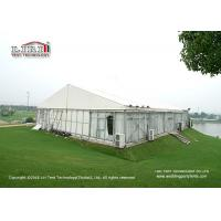 Wholesale Aluminum Frame Glass Walls Luxury Wedding Tents Wooden Flooring System from china suppliers