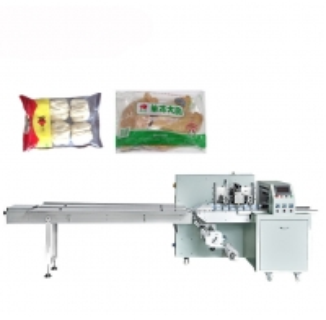 China Pillow Bag Meat / Dumpling Frozen Food Packing Machine on sale