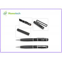 China Laser Usb Flash Drive Laser Pointer Ball Pen USB Promotional 1gb Usb Pen Drive for sale