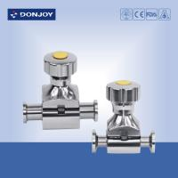 Buy cheap 1/4'' - 3/4'' 316L  Mini - type Sanitary Diaphragm Valve with manual , pneumatic from wholesalers