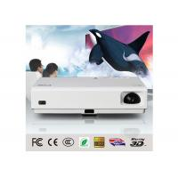 3D DLP Android WIFI LED Projector  , Wifi Video Projector For Movie Enjoy 3000 Lumens
