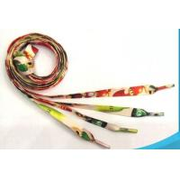 Wholesale Eco Friendly Colorful Printed Custom Shoe Laces With Custom Design Logo from china suppliers