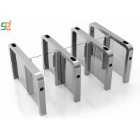 Wholesale Auto Pedestrian Supermarket Swing Entrance Barrier Gate Turnstile 304 Stainless steel from china suppliers