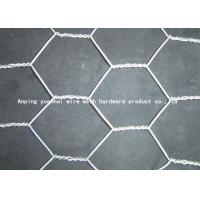 Wholesale Hexagonal Chicken Coop Gabion Wire Mesh For Farm Normal / Reverse Twist Style from china suppliers