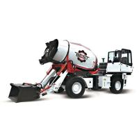 China 4 CBM High Efficient Mobile Concrete Mixer Truck With One Year Warranty on sale