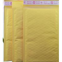 Quality 150*160mm Kraft Bubble Mailer , Tear Proof Poly Padded Bubble Mailers for sale