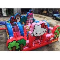 Wholesale Hello Kitty Inflatable Bouncy Castle With Slide Commercial Adult Bouncy Castle from china suppliers