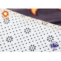 Quality Own-Factory Printed 100% Polyester Carpets And Rugs Backing Anti-slip Nonwoven for sale