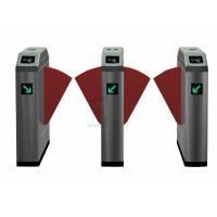 Wholesale Electronic High Speed Flap Barrier Gate /  Pedestrian Turnstiles from china suppliers
