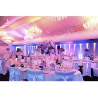 Wholesale Garden Uv Resistant Banquet Luxury Wedding Tents Lighting System Choosen from china suppliers