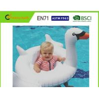 """Wholesale Customised Size Swan Pool Float 70""""x32"""" With Comfortable Flocked Sleeping Surface from china suppliers"""