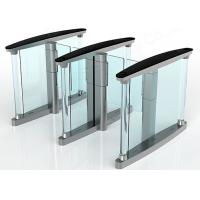 Quality Fingerprint Rfid Supermarket Swing Entry Turnstiles Semi Automatic for sale