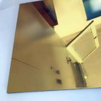 Wholesale Thickness 0.3mm Aluminium Mirror Sheet 87% Reflective Data For Lighting Industry from china suppliers