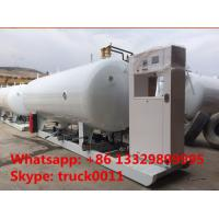 Buy cheap ASME standard 20m3 skid-mounted lpg gas plant, hot sale best price 8 metric tons mobile skid-mounted lpg gas station from Wholesalers
