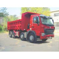 Wholesale Sinotruck HOWO 6 x 4  Londing 70000KG / 70Ton For Transporting Tipper self Loading Red Color Truck from china suppliers